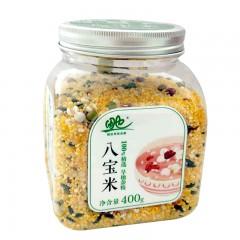 内蒙古田也玉米糁、薏仁米、八宝米、燕麦米各400g