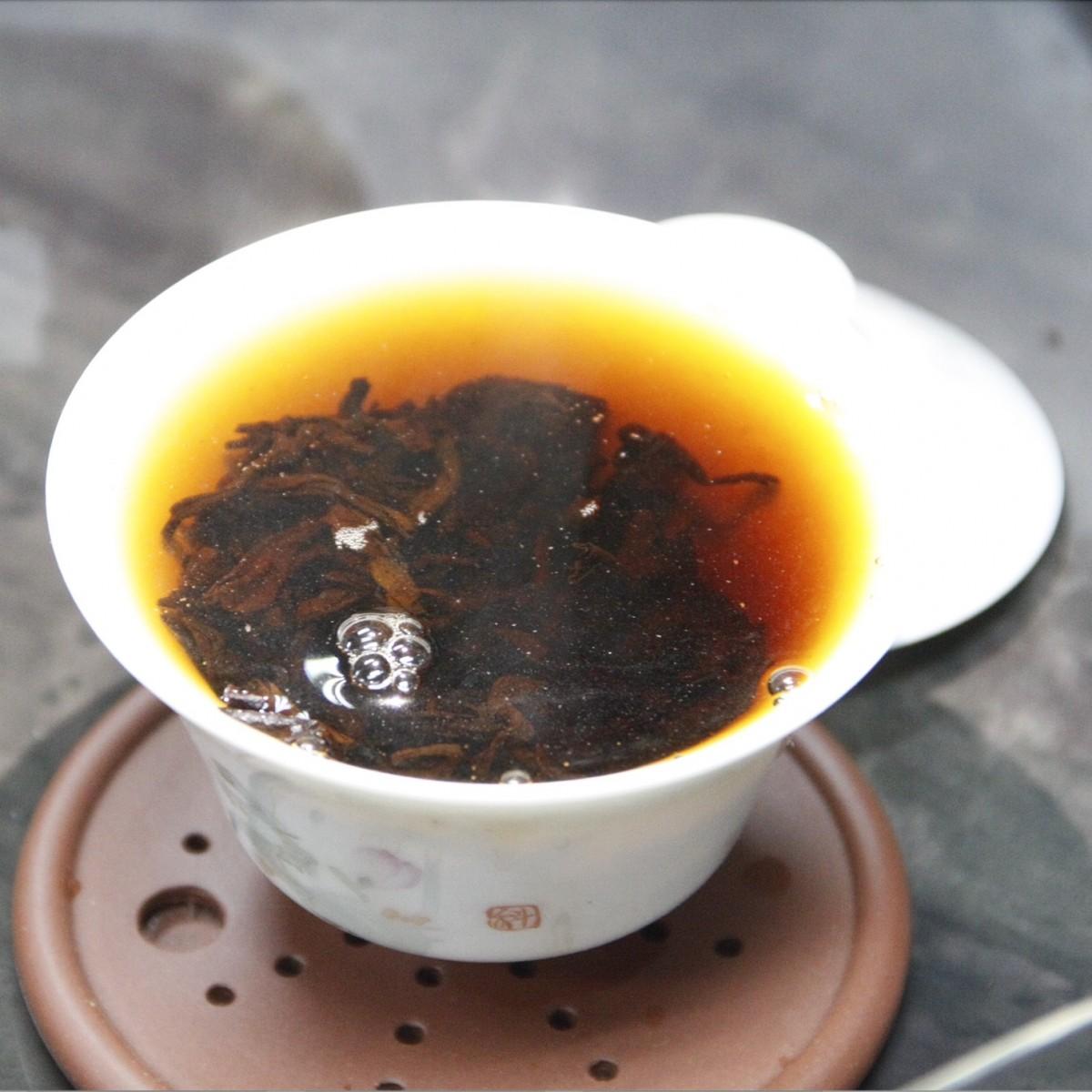 56_2012年布朗山普洱熟茶 (100g、200g、500g随意选)