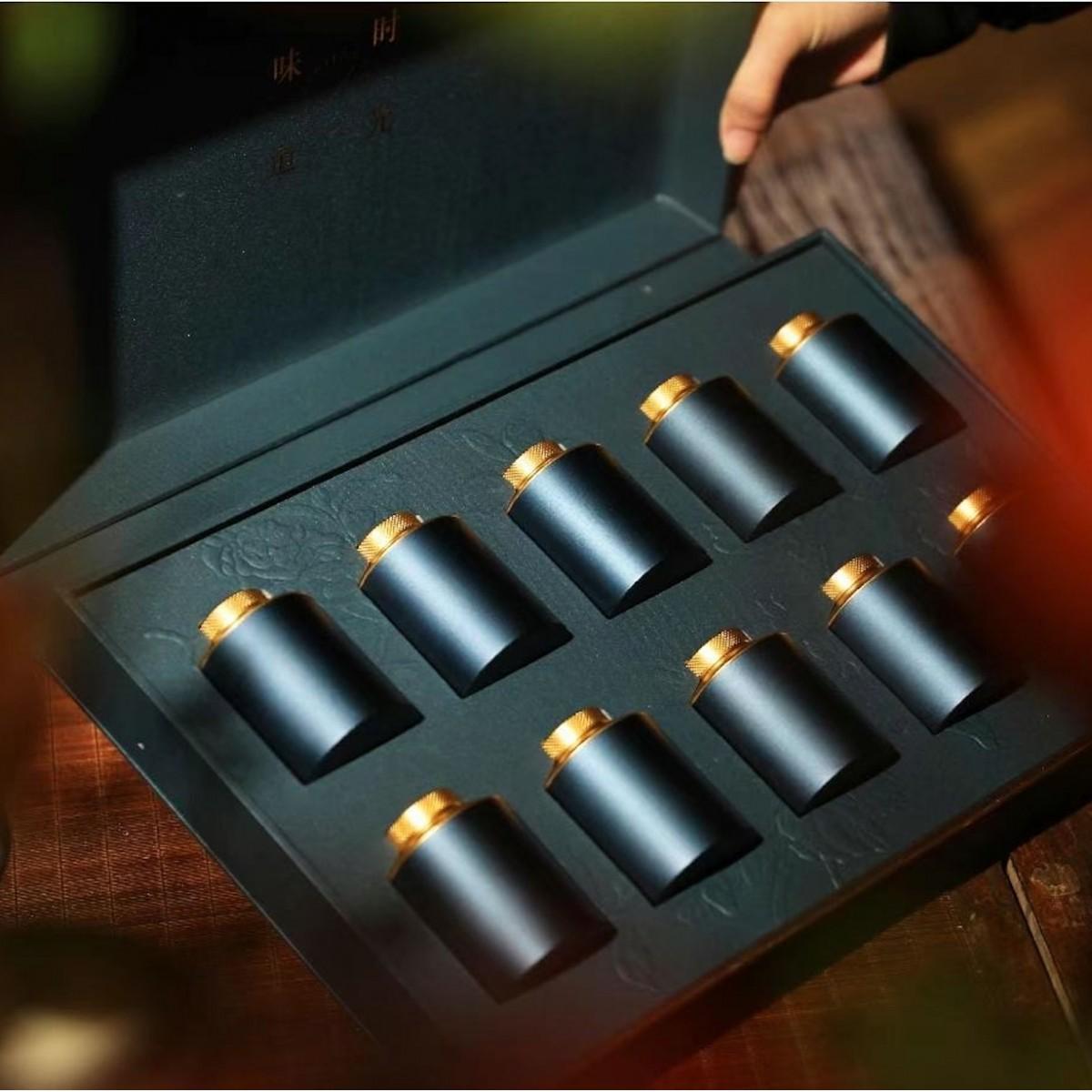 90_精美小罐茶礼盒(仅是礼盒,茶叶需单独选购100g后一并装盒)