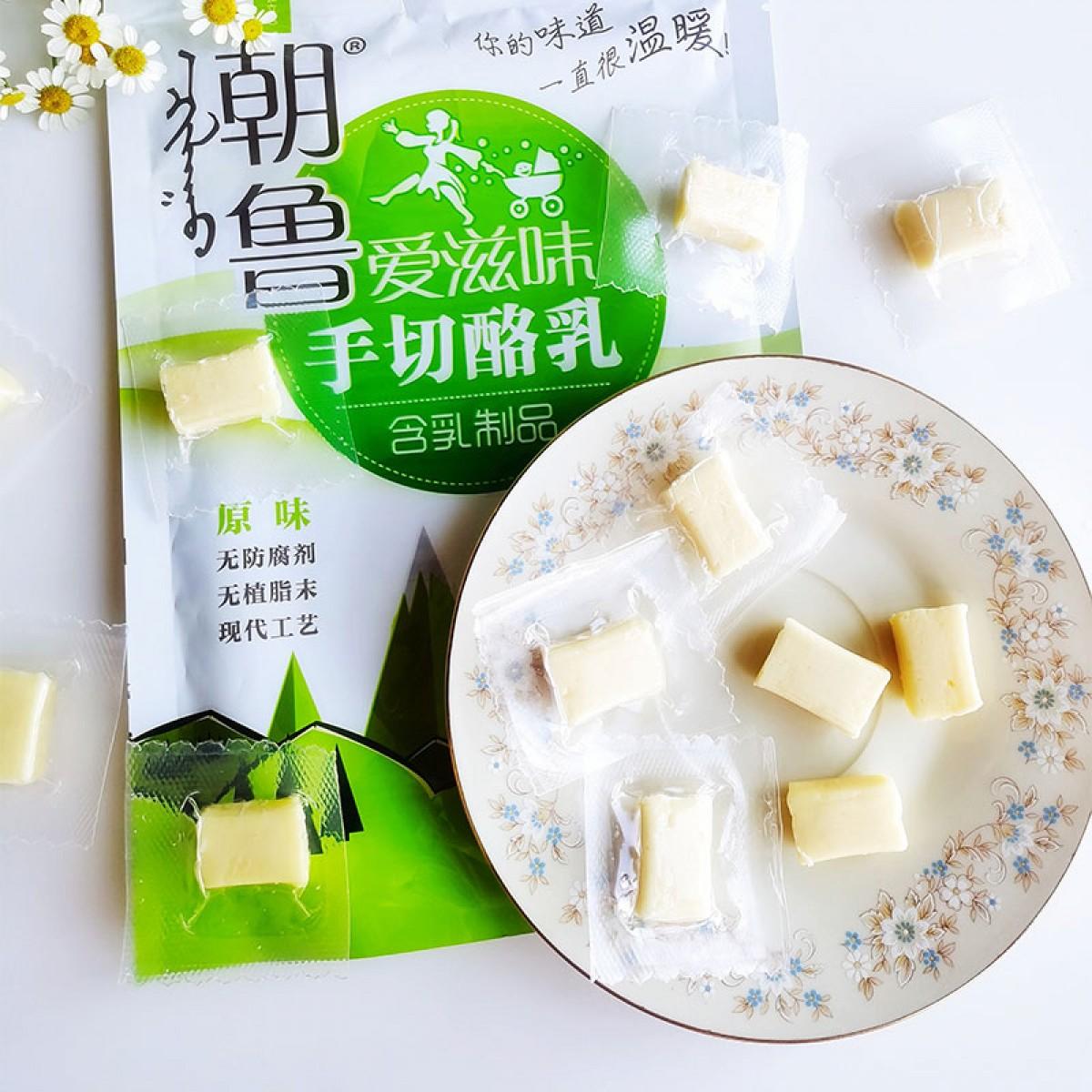 内蒙古蒙歌来手切酪乳原味100g*4袋