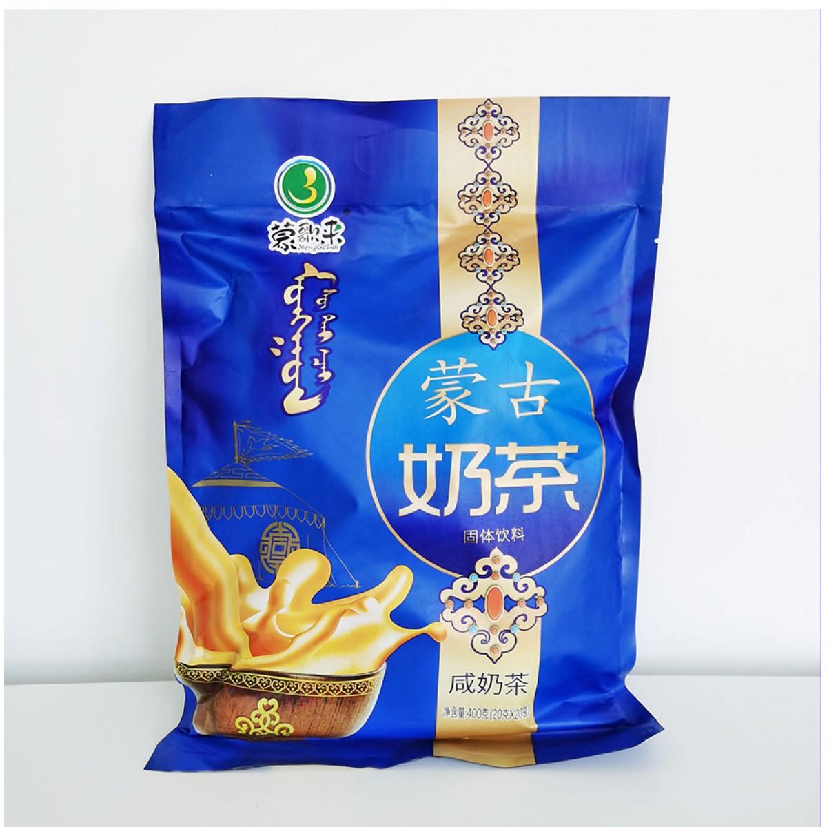 内蒙古蒙歌来奶茶咸味400g*3袋