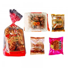 内蒙古佳食混糖月饼、麻花、盒点品尝装共10个