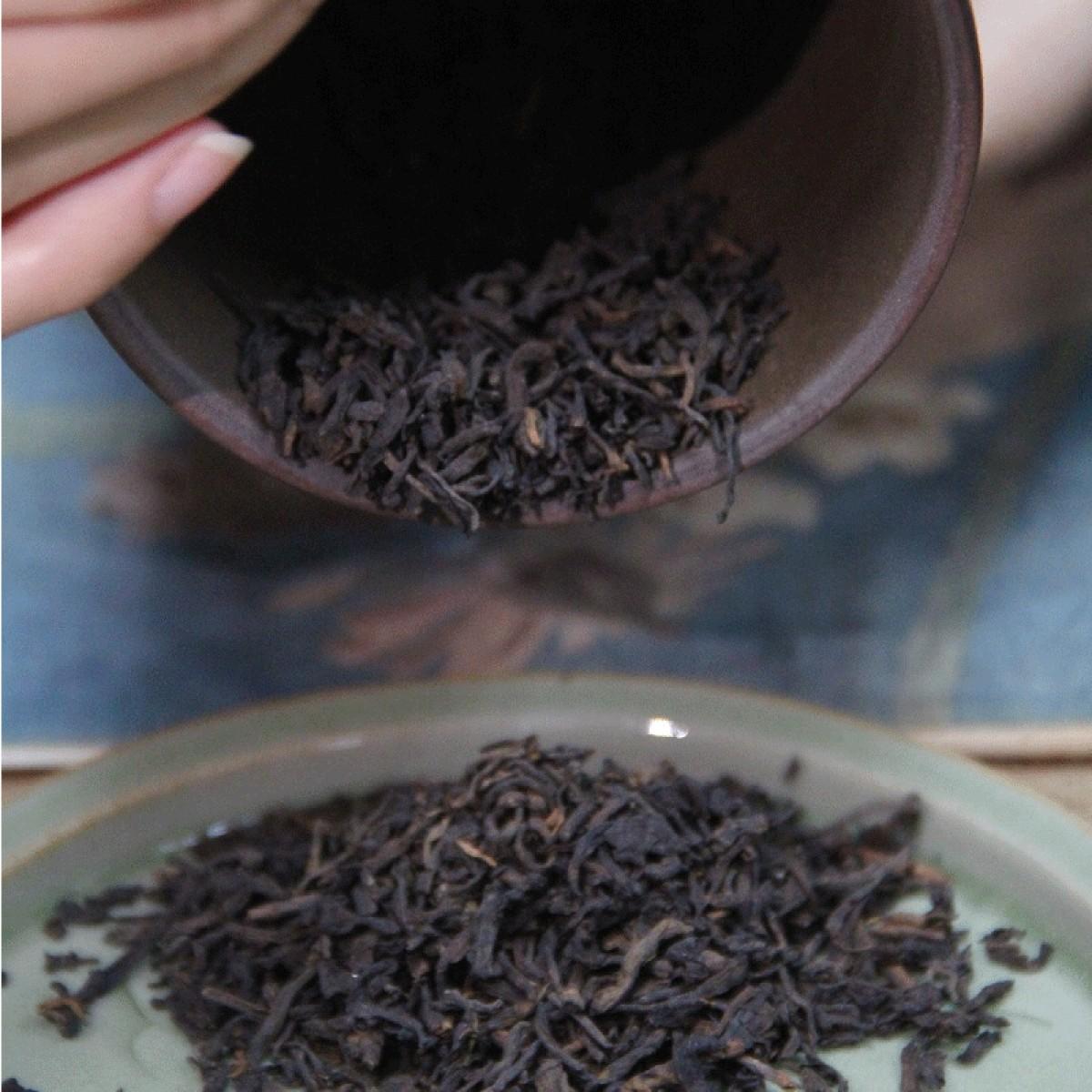 76_2000年豆沙香老六堡茶(100g、200g、500g随意选)